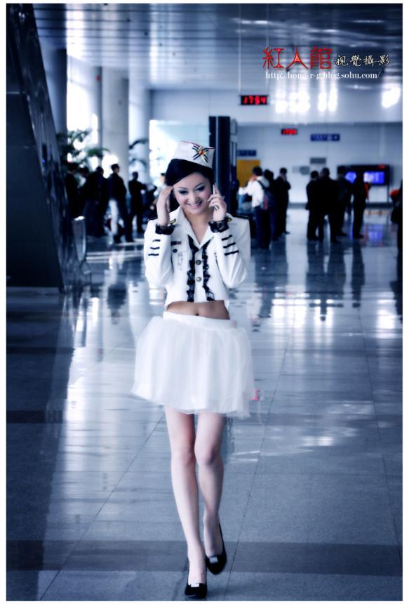 呼和浩特飞机场外景-摄影师