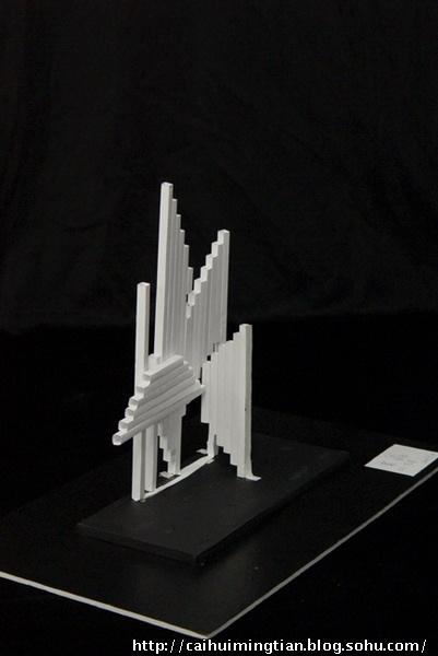 线材与面材的立体造型