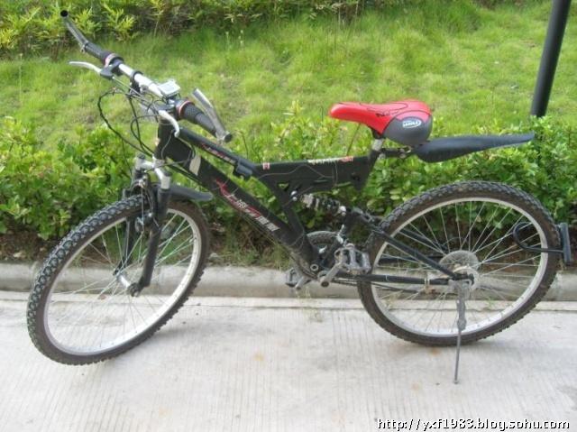 好了,来看看这个,先进哦,自行车测速器.