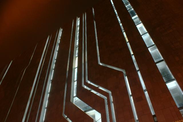 电路板一般的建筑立面