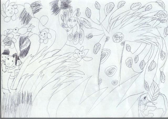 二年级开学手绘海报