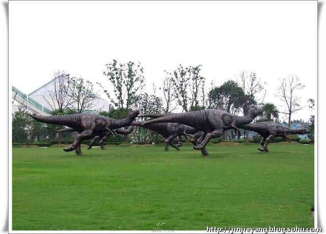 080816游常州中华恐龙园 天目湖 一