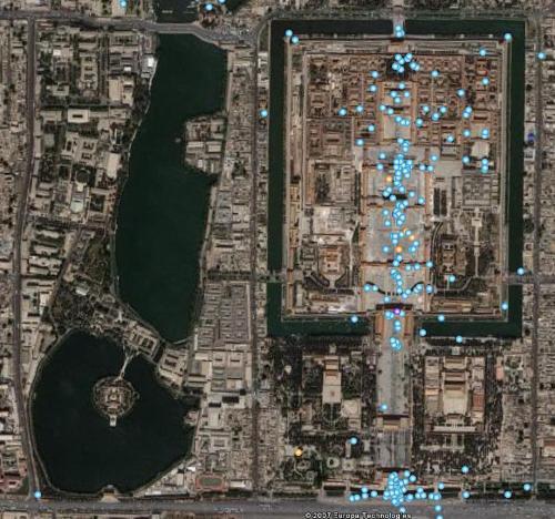 俯视卫星简笔画
