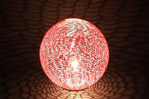 """""""伦敦的设计100%""""展出的泡泡糖灯系列作品-央美宋扬"""