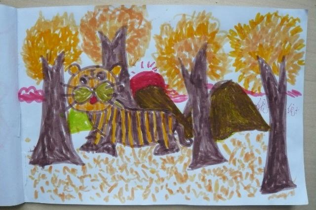 迷彩服——可爱的小老虎