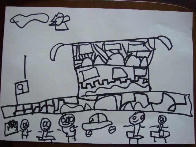 美术日记(43) 第一次画柳树