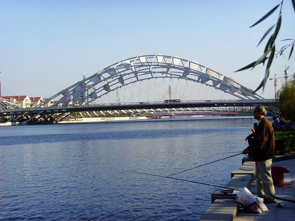 木结构大跨度桥梁承重设计图展示