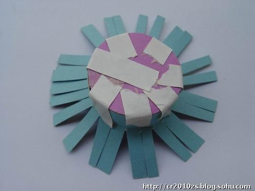 彩色卡纸做的帽子步骤_用卡纸做帽子的步骤