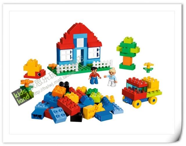 乐高积木玩具 lego得宝创意系列豪华桶 5507 拼砌积木玩具