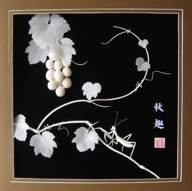 纸浮雕 立体设计分享展示