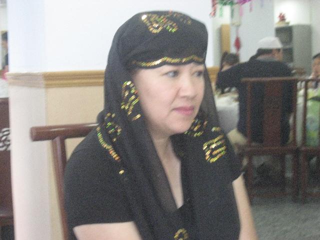 回族头巾的系法图解