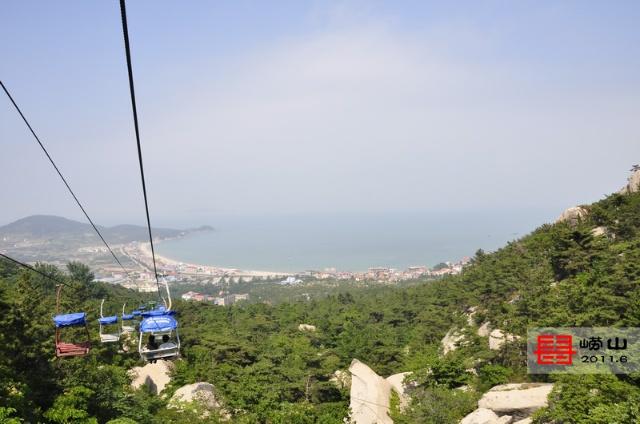 仰口风景区 缆车